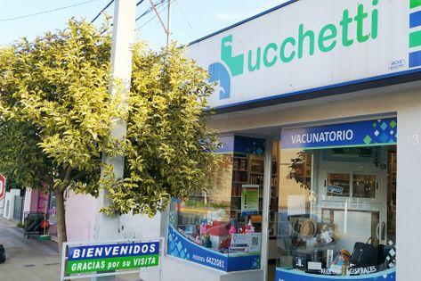 Frente de la Farmacia Lucchetti