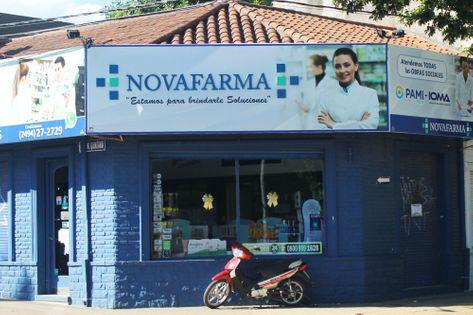 Frente de la Farmacia Novafarma