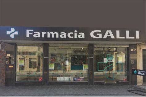 Frente de la Farmacia Galli